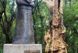 Pomnik Jana Pawł'a II w Kurytybie