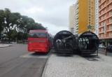 Przystanek autobusowy w Kurytybie