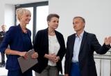 Karolina Grabowicz-Matyjas, Małgorzata Omilianowska i Wojciech Szczurek