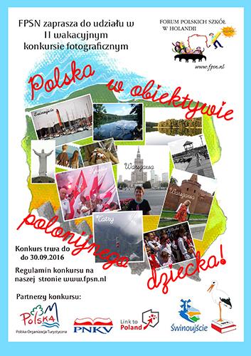 plakat II konkurs fotograficzny