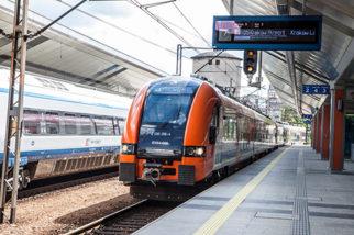 train to krakow airport